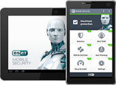 Test antivirus Android : ESET Mobile Security et Antivirus