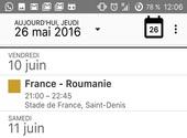 Comment ajouter le calendrier de l'Euro 2016 à Google Agenda et à Outlook ?