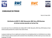 Free subscribers, here's how to watch BFMTV and RMC after midnight tonight