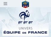 """Application Equipe de France pour voir la vie en """"Bleus"""""""