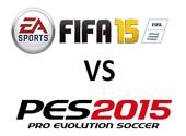 Dossier jeux de foot: FIFA vs PES : le choc des titans