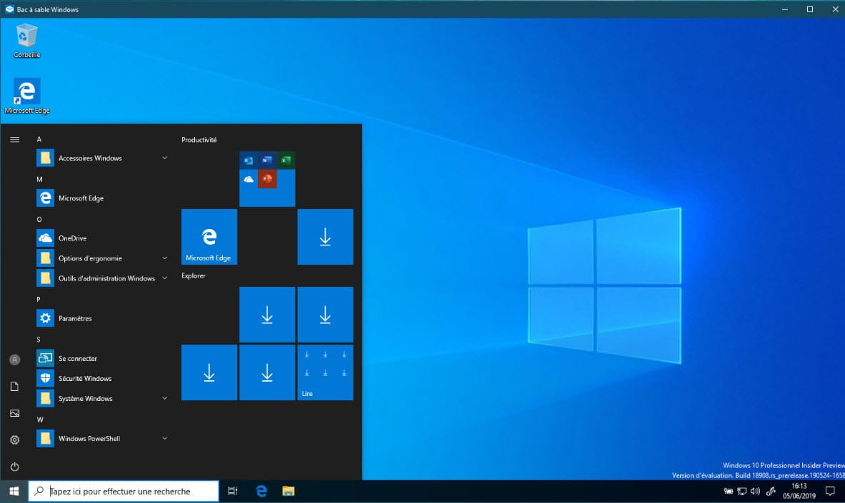Comment utiliser Windows Sandbox ?