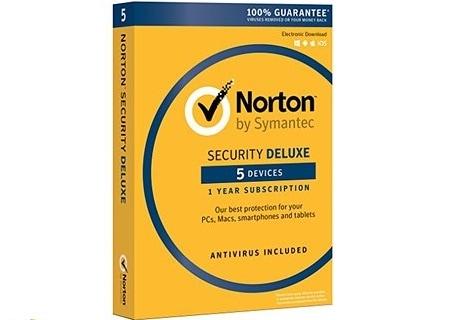 Test antivirus : Norton Security Deluxe