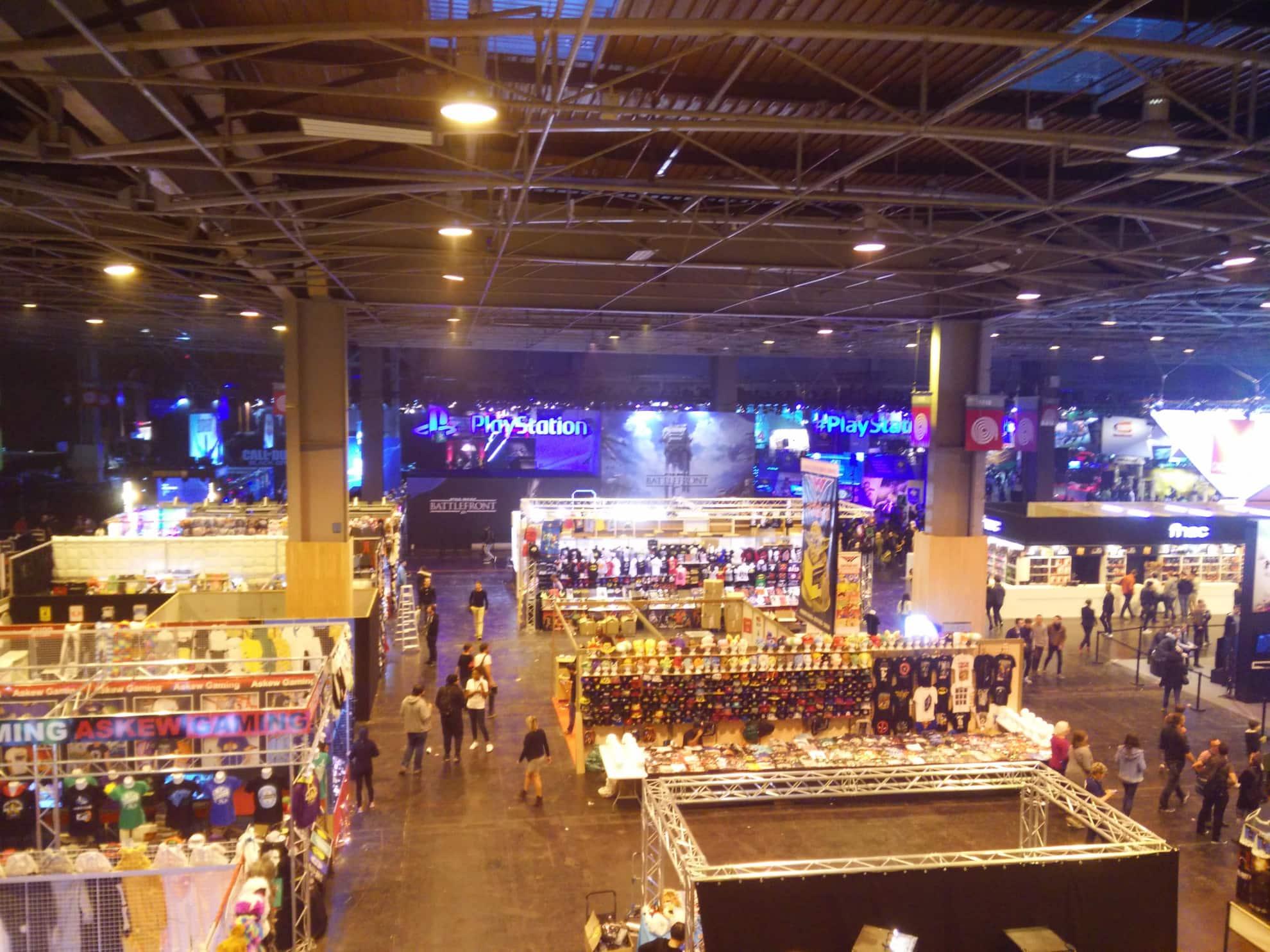 Des jeux vidéo ( et pas que ) à la Paris Games Week