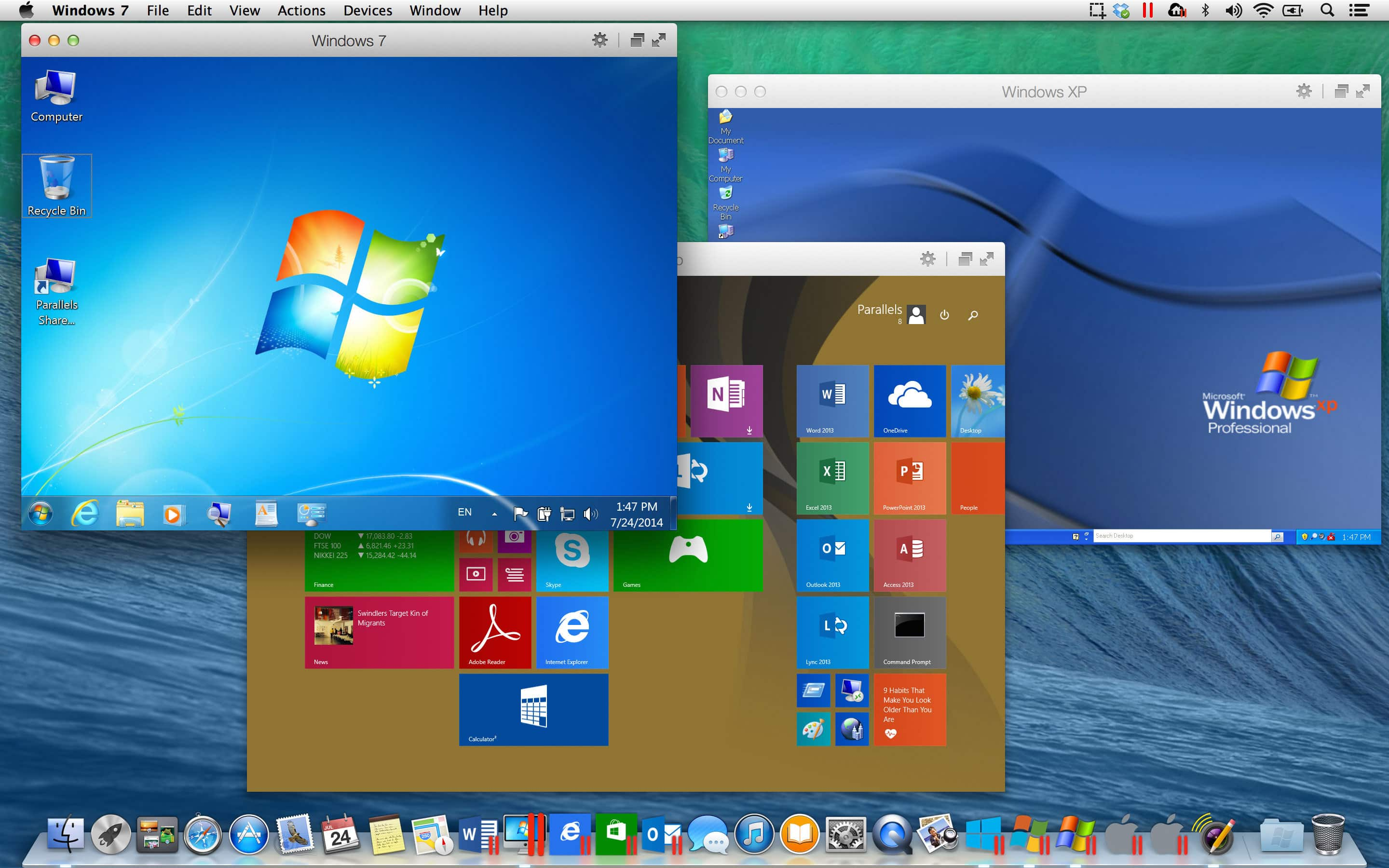 Les solutions de virtualisation pour Windows et OS X