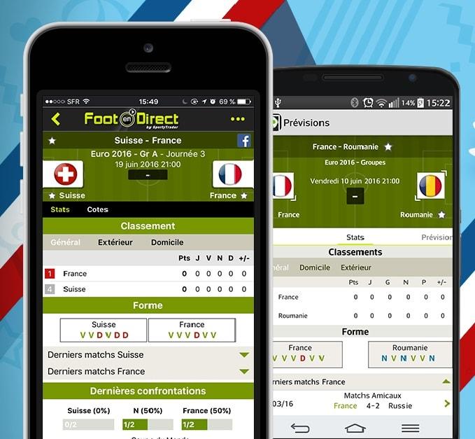 Suivez l'Euro et la Copa America avec Foot En Direct