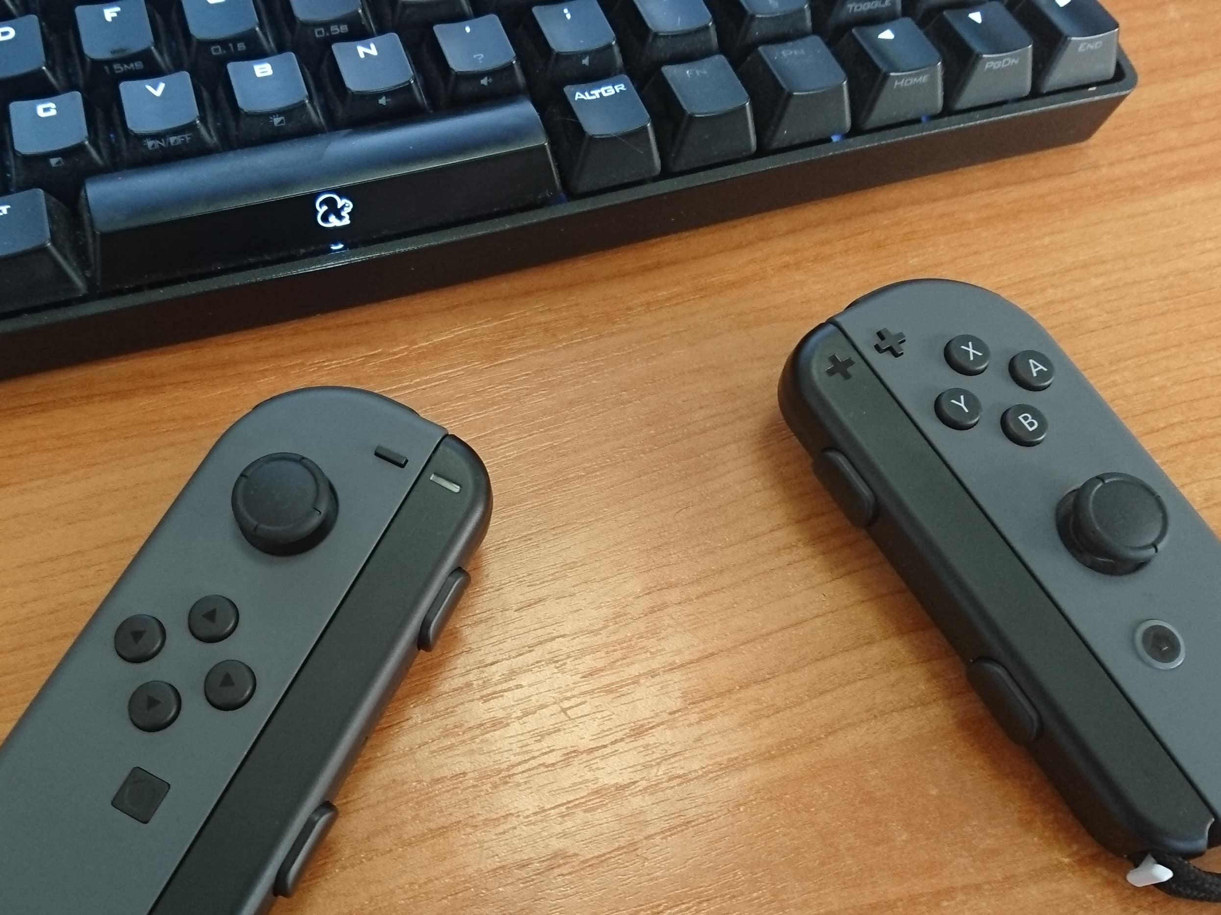 Comment utiliser les Joy-Con de la Nintendo Switch sur son PC ?