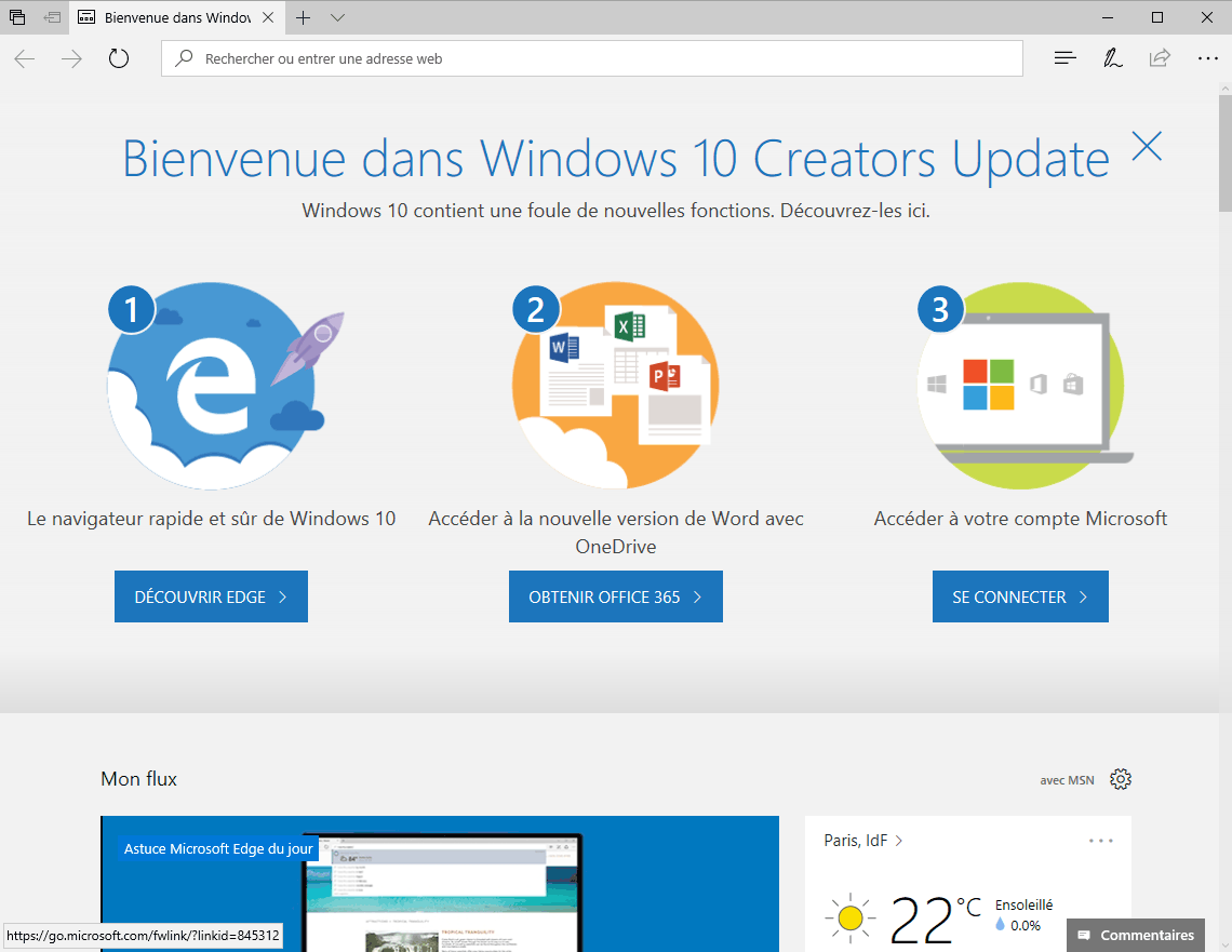 Windows 10 : comment tester dès maintenant la Creators Update ?