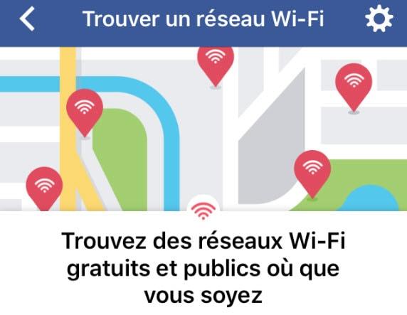 Comment trouver un réseau WiFi gratuit avec Facebook ?