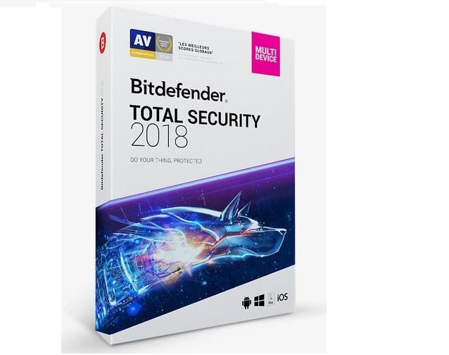 Test antivirus : Bitdefender Total Security 2018