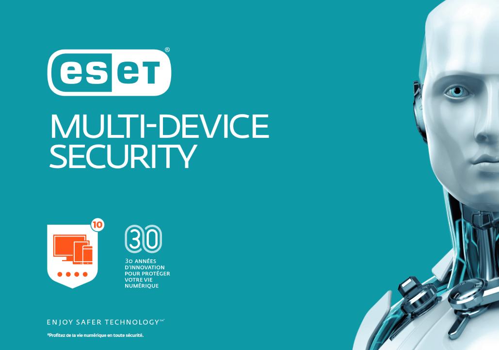 ESET Multi-Device Security : Une protection pour  tous vos appareils