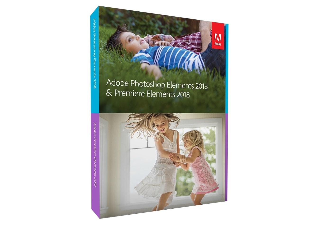 Adobe propose son Pack Création Photoshop et Première Elements