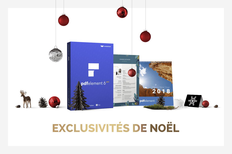 Wondershare PDFelement Pro : des offres exceptionnelles pour Noël