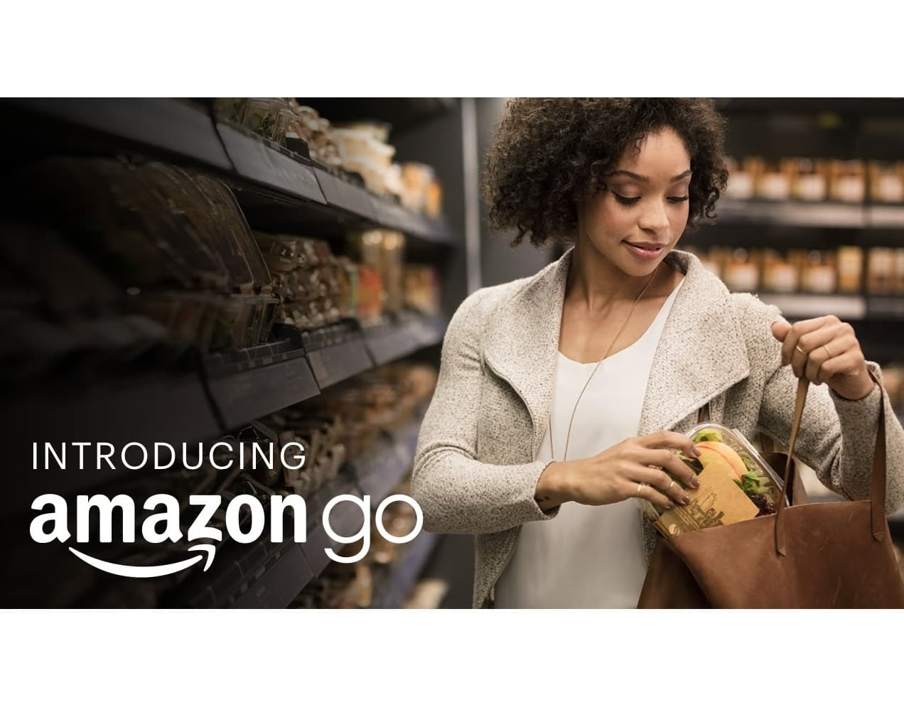 Amazon Go ou comment faire ses courses sans passer à la caisse