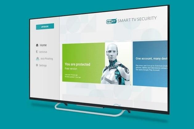 ESET se lance dans les antivirus pour téléviseurs
