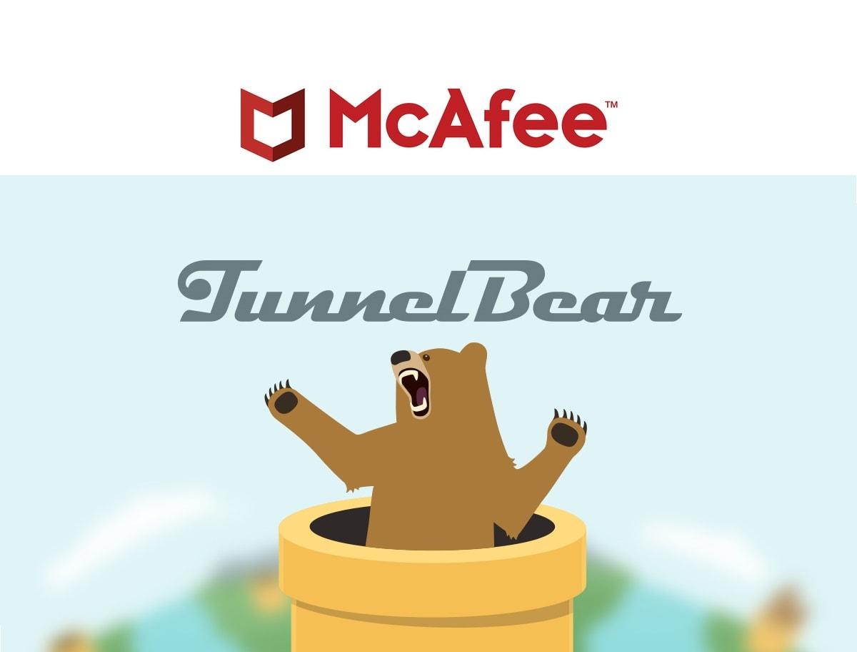 Que cache le rachat du célèbre VPN TunnelBear par McAfee ?