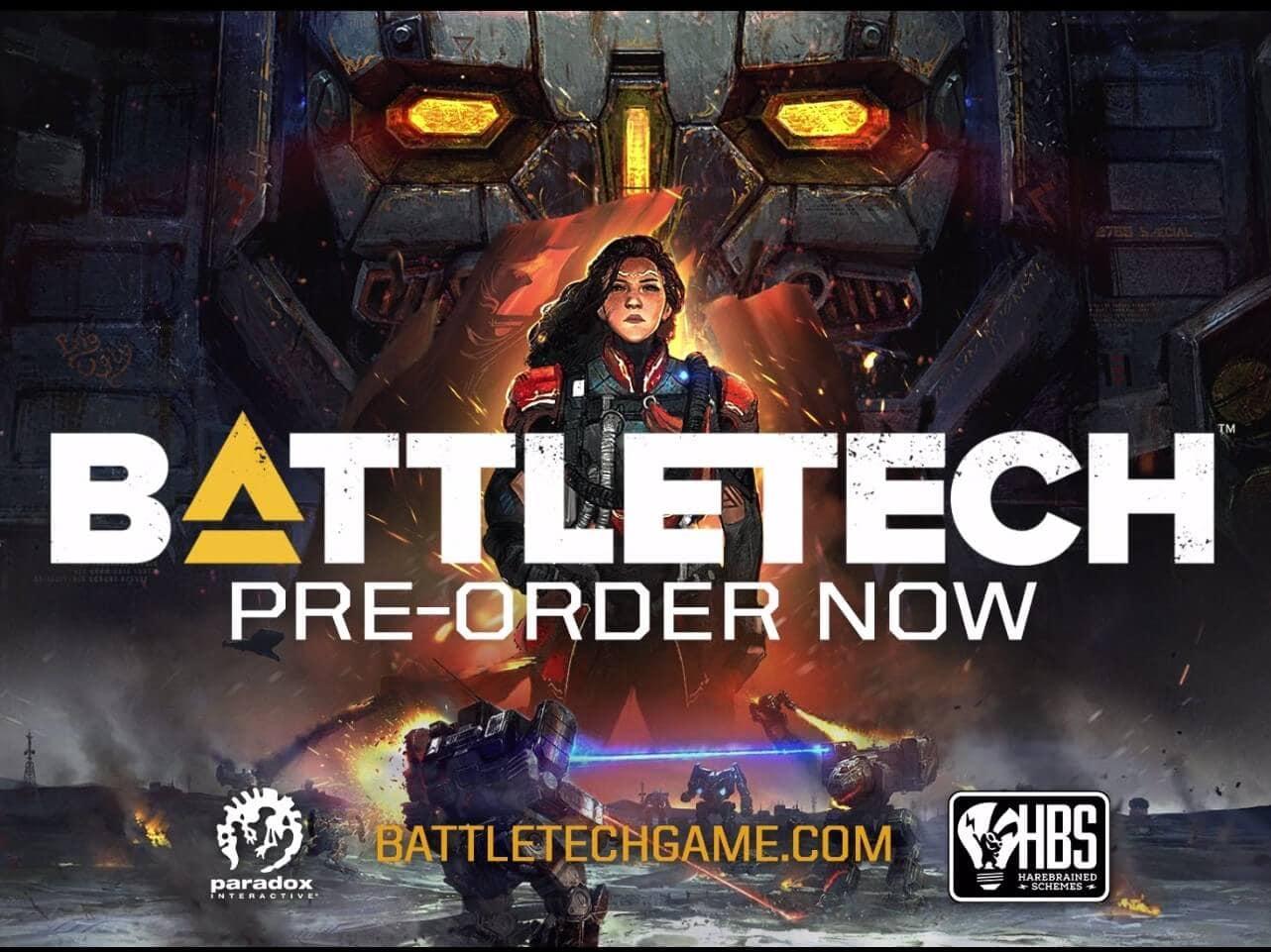 Battletech est en précommande