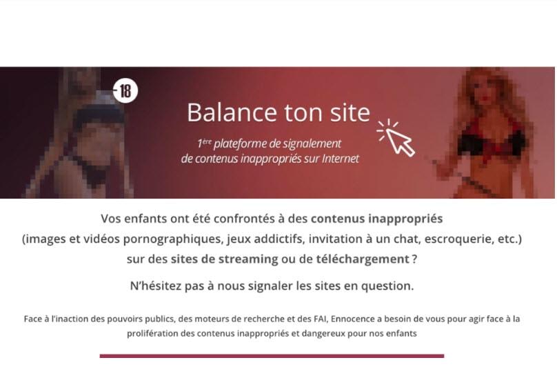 Sites de streaming et contenus inappropriés : balancetonsite veut faire le ménage