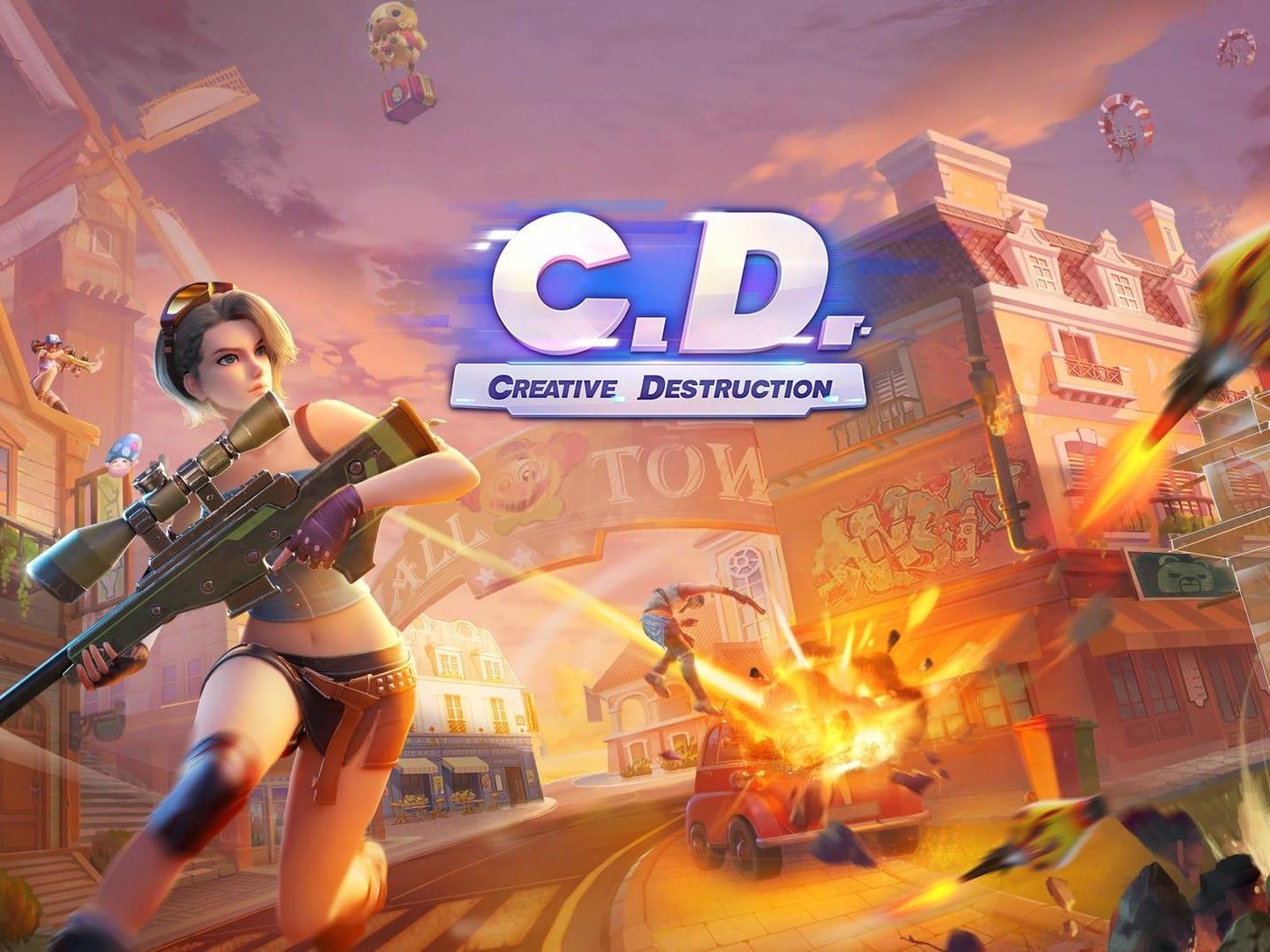 Surprise, Fortcraft le clone de Fortnite revient sous le nom de Creative Destruction