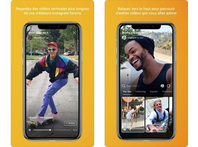 IGTV : Instagram se lance dans la TV sur mobile ? Pas tout à fait.