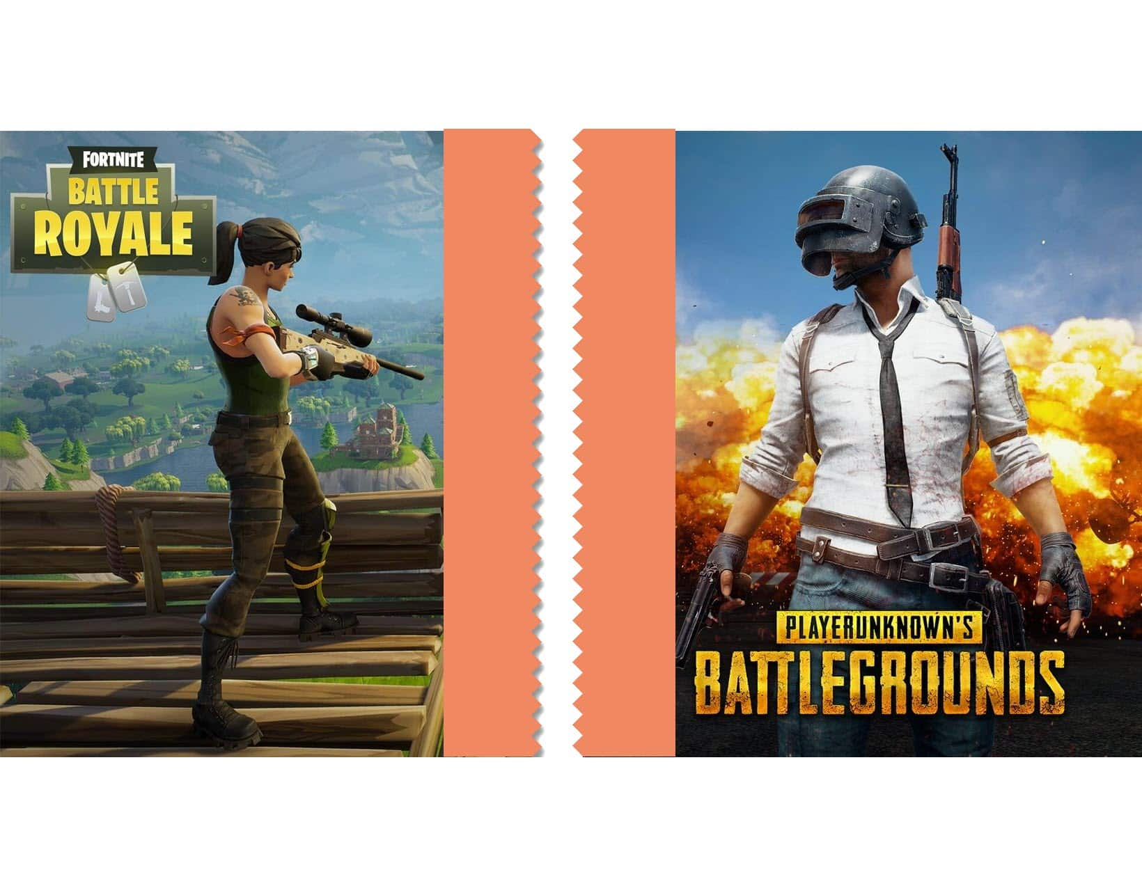 PUBG et Fortnite enterrent la hache de guerre