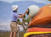 Des objets de Fortnite se sont invités dans le monde réel en Californie