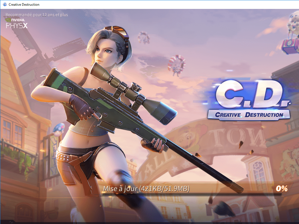 Creative Destruction, le clone de Fortnite est désormais jouable sur PC