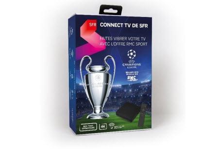 Ligue des Champions : SFR dévoile une box Android 4K pour regarder les matchs