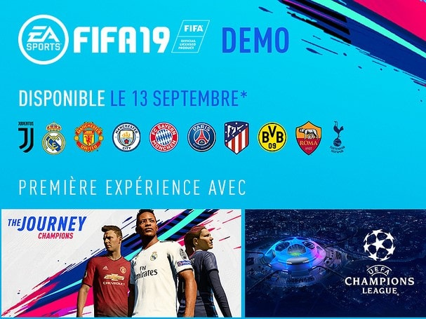 Comment télécharger la démo de FIFA 19 ?