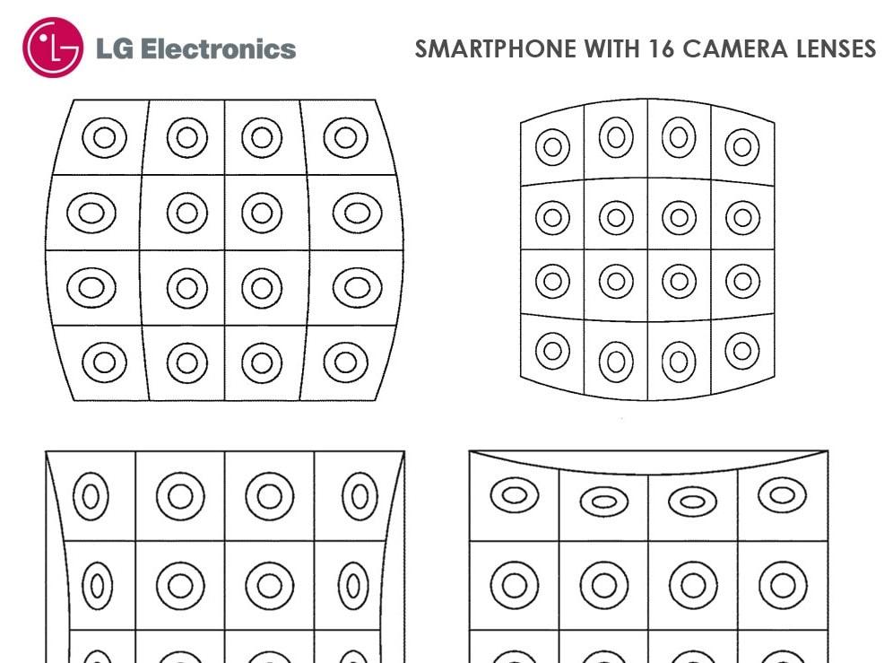LG ne pense pas aux trypophobes avec son smartphone doté de 16 capteurs photo