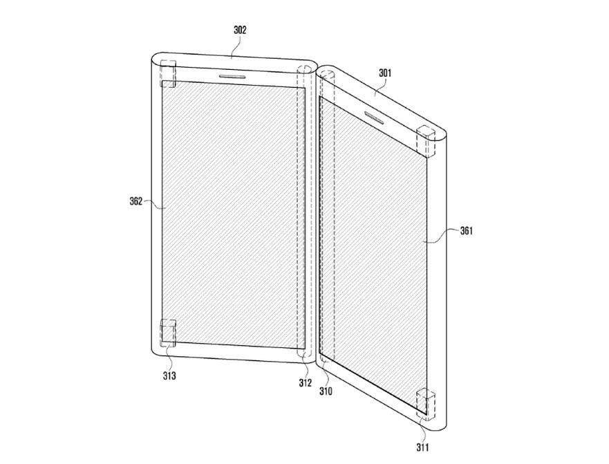 Samsung a déposé un brevet pour un smartphone à deux écrans détachables