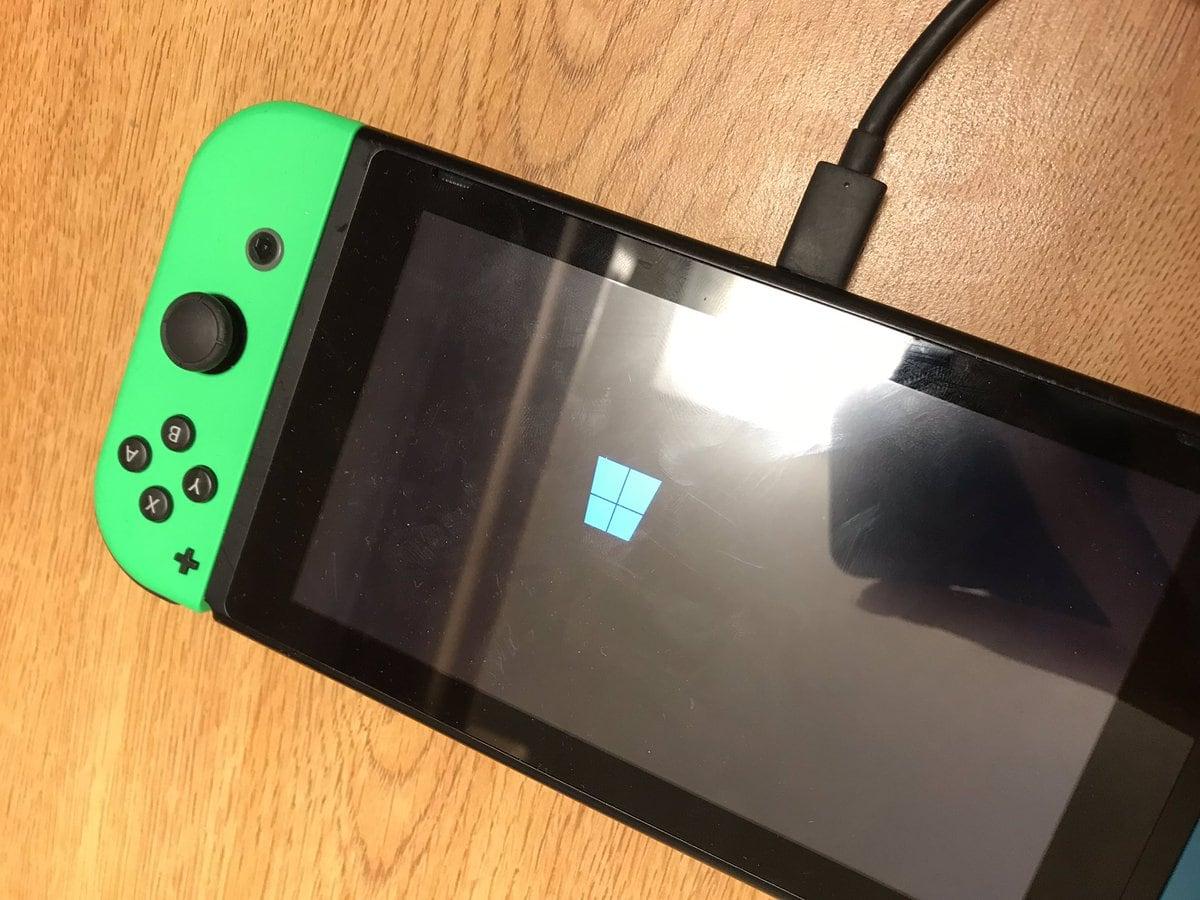 Installer Windows 10 sur la Nintendo Switch : un projet en bonne voie