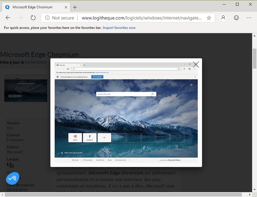Microsoft Edge Chromium : Les premières versions de test sont officiellement disponibles