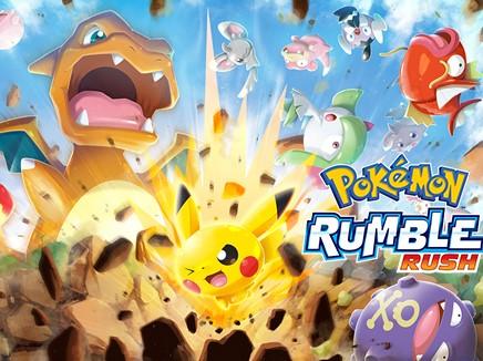 Pokémon Rumble Rush est disponible dans le monde entier sur Android