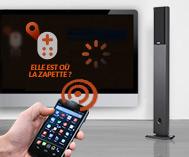 Une application pour retrouver la télécommande de la télé