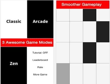 Encore un jeu addictif: Don't Tap the white tile