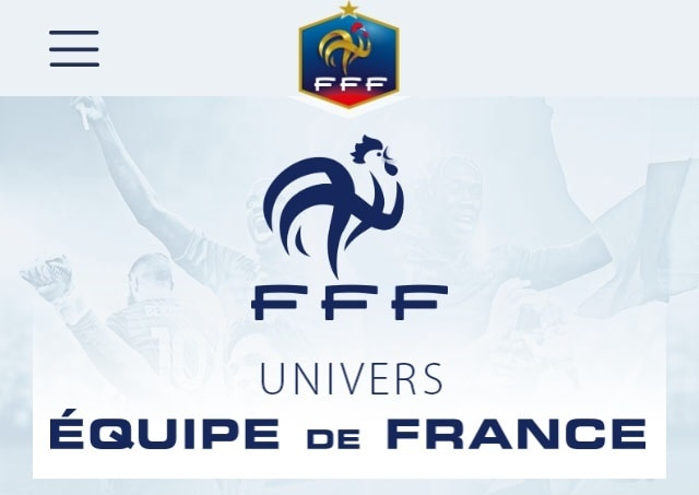 Application Equipe de France pour voir la vie en