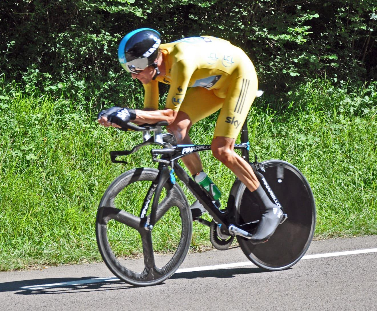 Dans la peau d'un cycliste du Tour de France avec Vélog