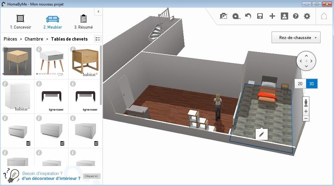 HomebyMe: Un logiciel d'architecture gratuit puissant et complet