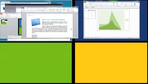 Goûtez (un peu) à Windows 10 avec Dexpot, logiciel de bureaux virtuels