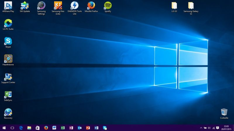 Comment retrouver le menu Windows 7 dans Windows 10 ?