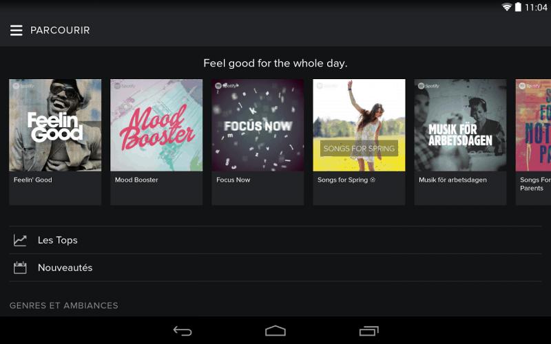 Spotify vous entend et vous écoute