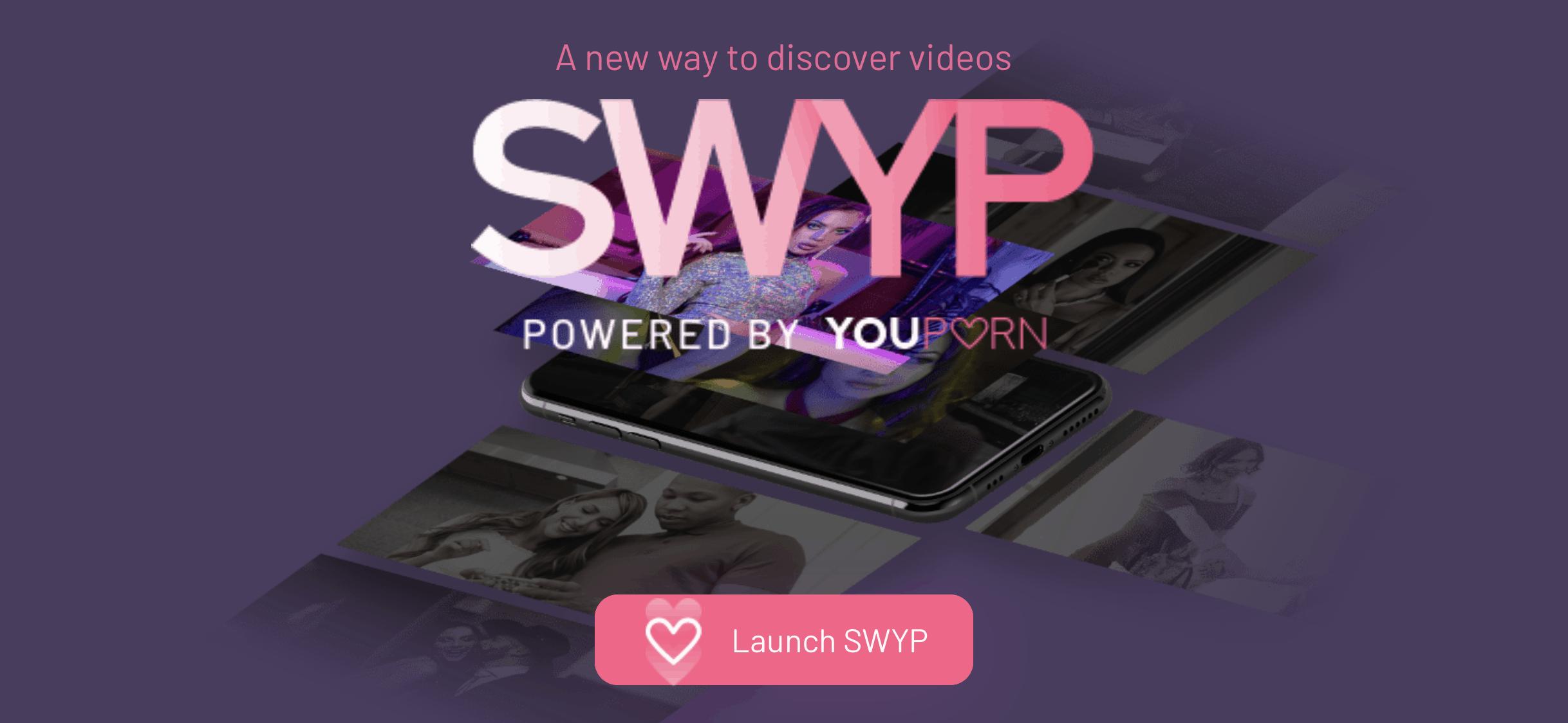 YouPorn Swyp : YouPorn lance un service qui glisse comme TikTok