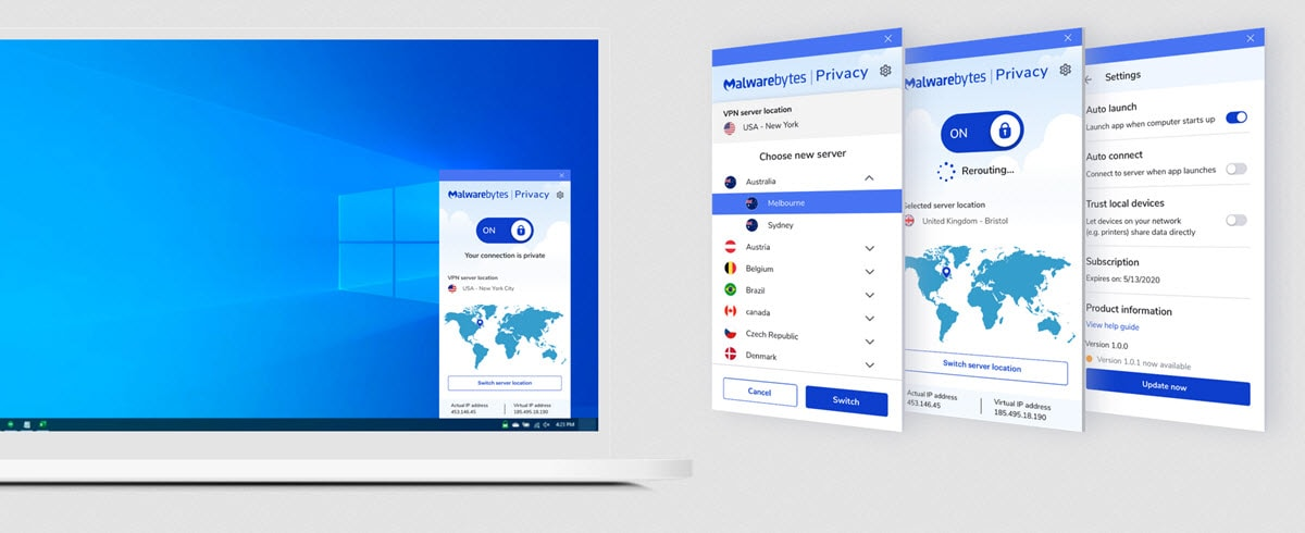 Malwarebytes lance son propre VPN : Privacy