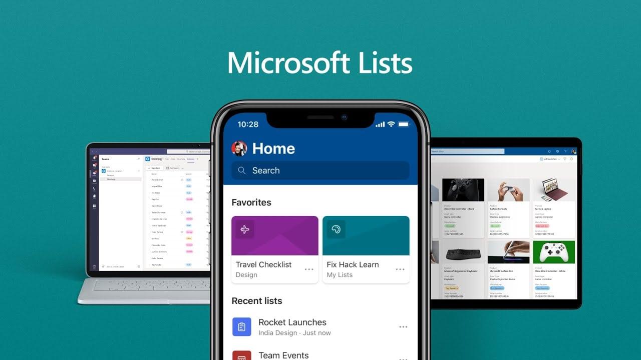 Microsoft 365 va se doter d'une nouvelle application nommée Lists