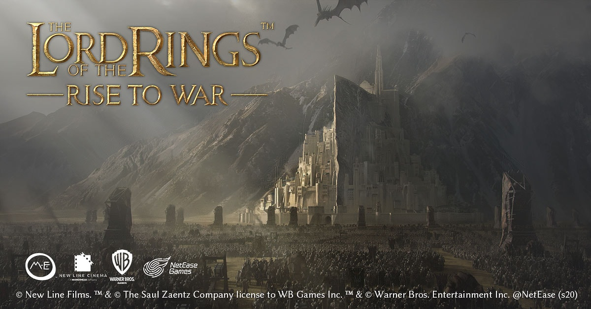 The Lord of the Rings Rise to War : NetEase annonce un jeu mobile
