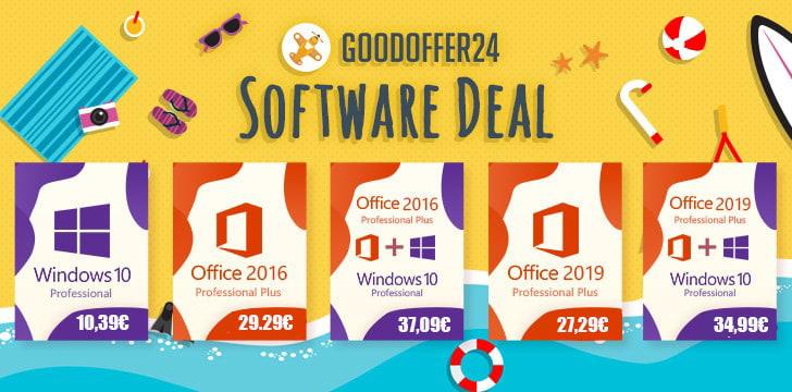 Equiper son PC avec Windows 10 à 10 € et Office 2019 à 27 €