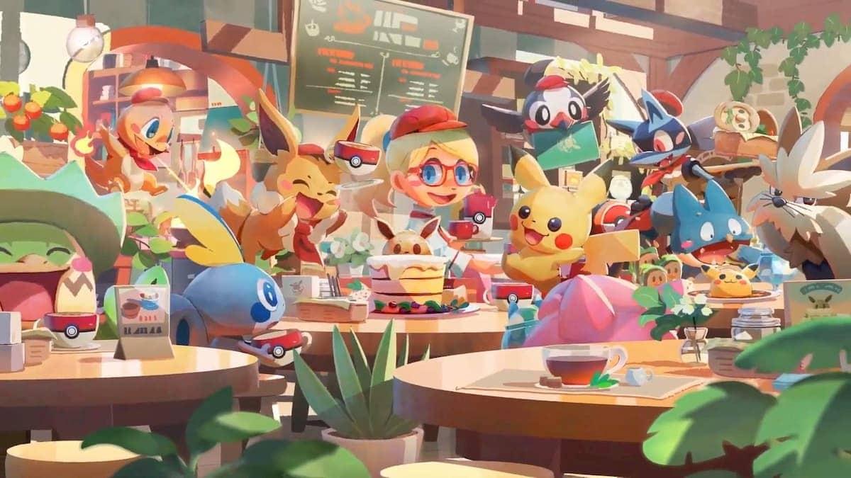 Pokémon Café Mix et Pokémon Smile débarquent sur mobile