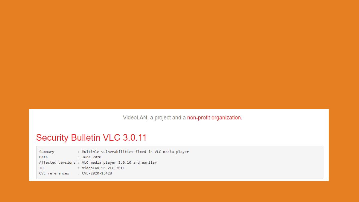 Le nouveau VLC 3.0.11 corrige une faille critique