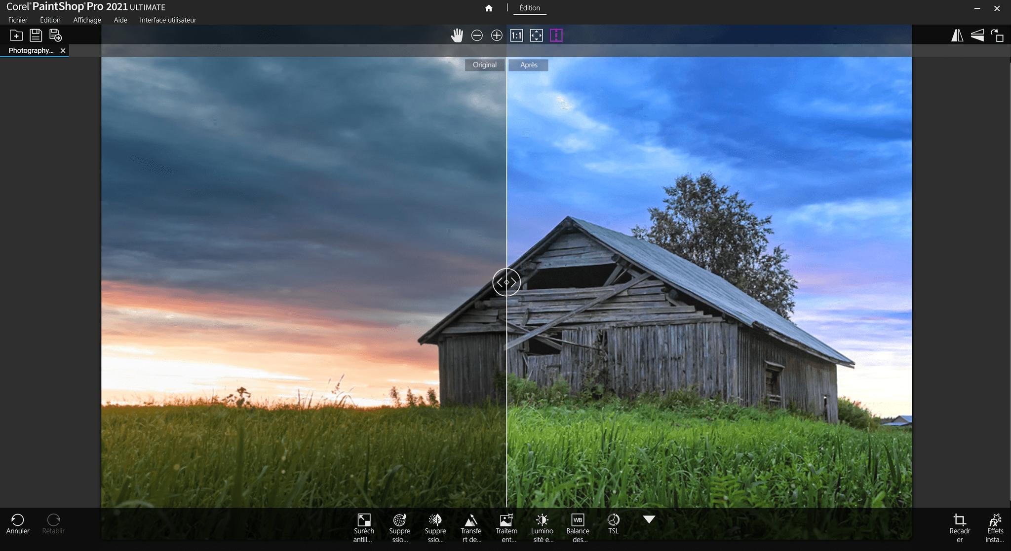 PaintShop Pro 2021: Nouvelle version du logiciel de retouche photo de Corel